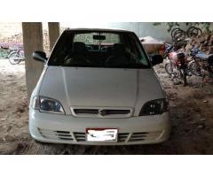 Suzuki Cultus 2004 White colour