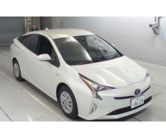 Sajjad Motors Prius Pearl White new shape Prius S package