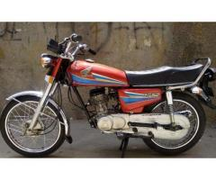 Honda 125 2007 model For sale in very cheap rate visit there