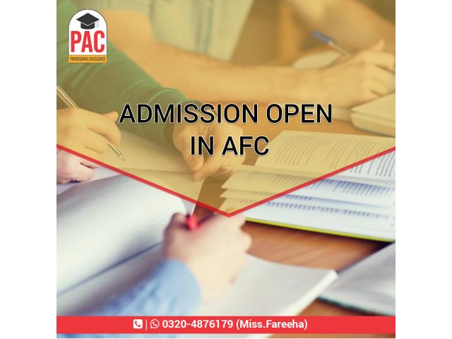 (Admission Open in AFC) PAC