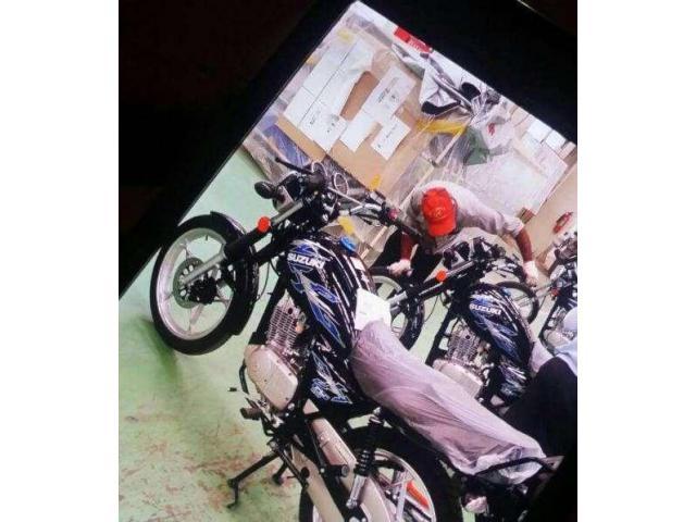 Suzuki motorcycle GS 150 SE (ALLOY RIM & DISCK BREAK ) REG & PACKAGE.