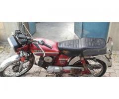 Yamaha 100Cc Genuine Condition with good amount