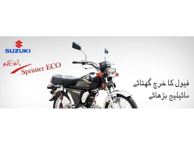 Suzuki Motorcycle Sprinter 110cc with REG & Package.