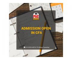 CFA Admission Open in PAC
