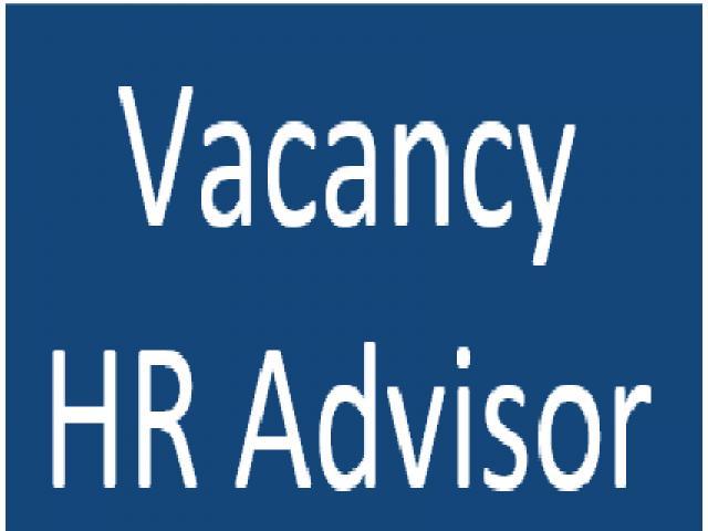 Hr Advisor Required