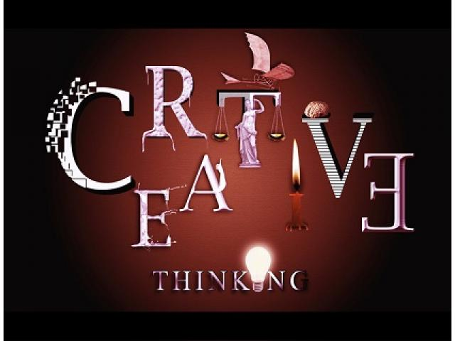 Offering a career opportunity For a creative Thinker