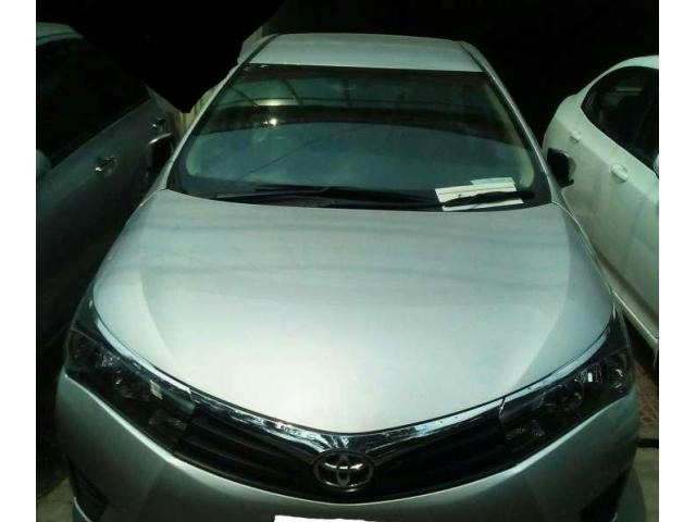 TOYOTA Corolla GLI Manual BANK Leased easy installment
