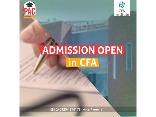 PAC Offering CFA in Pakistan