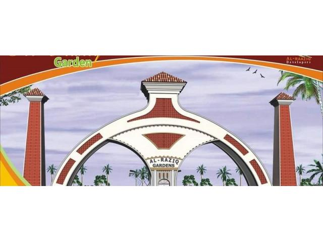 Al Raziq Garden Lahore Residential Plots Available On Installments