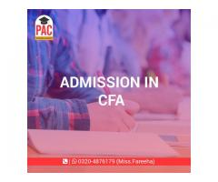 PAC started CFA in Pakistan