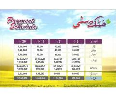Khattak City Peshawar Residential Plots on easy installments