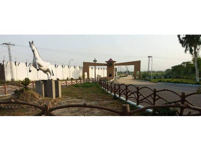Khattak City Peshawar Residential Plots on easy installments