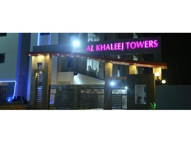 Al Khaleej Towers Karachi Apartments on installments