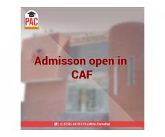PAC started CAF courses in Pakistan
