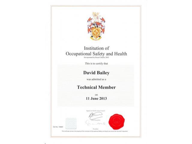Nebosh Safety International Course