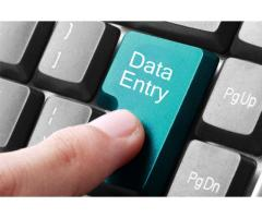 database entry job with good salary