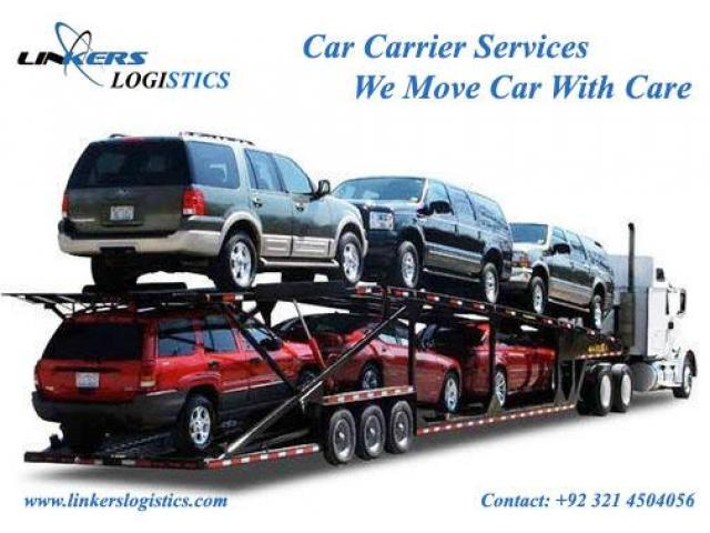Linkers Car Carrier services Lahore Karachi Islamabad Pakistan