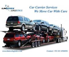 Linkers Car Carrier services Lahore Karachi Islamabad Pakistan