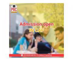 CAF course started in PAC Pakistan