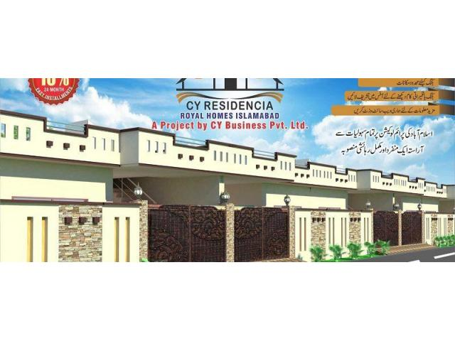 CY Residencia Islamabad Single and Double Storey Houses in insatllments