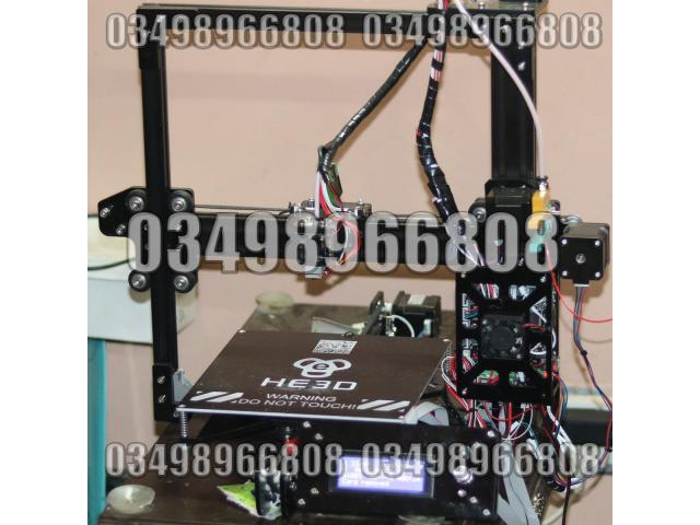 3D Printer Fully Assembled with Single Extruder