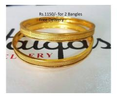 Gold Plated Indian Bangles with good price and condition