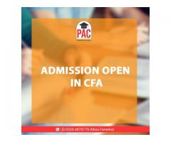 CFA started in PAC Pakistan