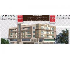 China Market Islamabad  Ghouri Town Apartments and Shops in installments