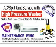 AC Service by CSP Maintenance Wing F-10 Markaz