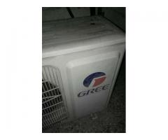 Gree ac 1.5 ton out class condition