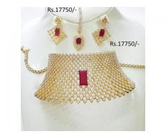 Gold Plated Bridal Set for sale in good hands