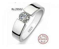Gents Chandi Ring for sale in good rates