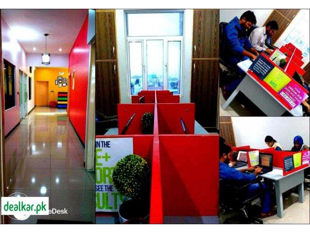 Office space with all facilities - ShareDesk.Pk