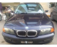 BMW car 318i available for sale.