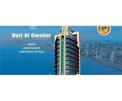 Burj Al Gwadar Pakistan: Apartments, Offices and Shops on installments