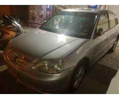 Honda civic 2001 automatic for sale in good price