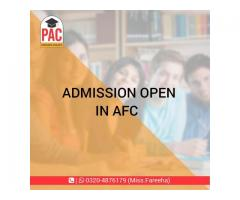 AFC course started in PAC Pakistan