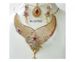 Gold Plated Bridal Set For sale in good rate price