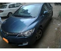 Honda civic 2007 full option for sale in good rates