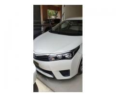 Toyota Corolla Gli 2015 for sale in good rates