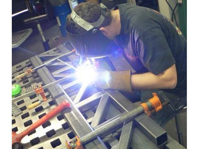 Steel fabricator Fitter welder fiberglass fabricator with