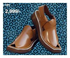 101 Now Introducing Premium Quality, Traditional hand stitched Kaptaan chappal