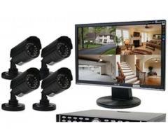 4 cctv cameras with complete installation, Ramzan Offer
