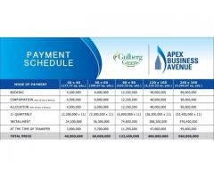 Apex Business Avenue Gulberg Greens Islamabad: plots on installments