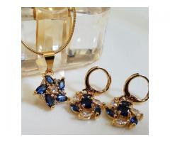 Gold Plated Pendant Set (GPPS-005) FOR SALE IN GOOD RPICE ON THIS EID