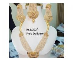 Indian Bridal Pearl Malla Set (IBC-027) FOR SALE IN GOOD RPICE ON THIS EID