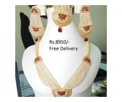 Indian Bridal Pearl Malla (IBC-026) FOR SALE IN GOOD RPICE ON THIS EID