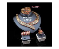 Gold Plated Necklace On Sale FOR SALE IN GOOD RPICE ON THIS EID