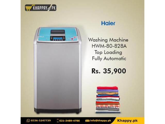 Haier Washing Machine HWM-80-828A Top Loading Fully Automatic