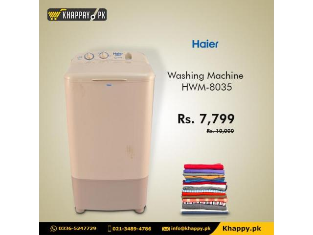Haier Washing Machine HWM-8035
